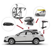 Alle Yakima produkter: Bilstativer og tilbehør